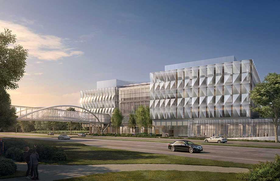 Knight Campus renderings Franklin Blvd